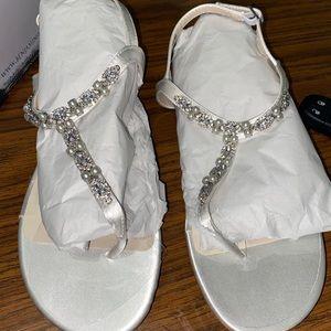 David's Bridal Sandals